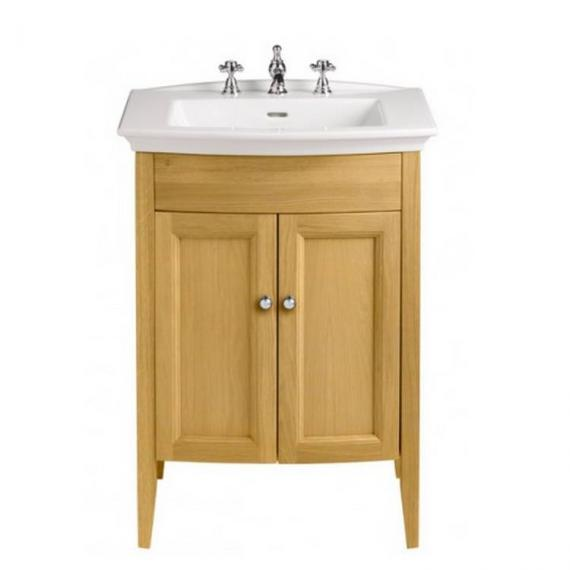 Heritage Caversham Oak Vanity Unit & Blenheim Basin