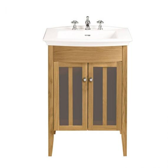 Heritage Hidcote Oak Vanity Unit & Blenheim Basin