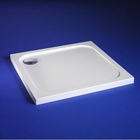 Blu-Gem2 800mm x 800mm Square Shower Tray & Waste