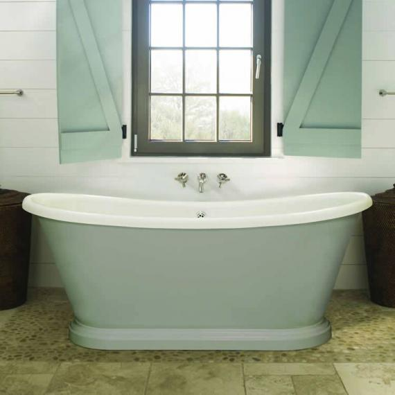 BC Designs 1580mm Acrylic Boat Freestanding Bath