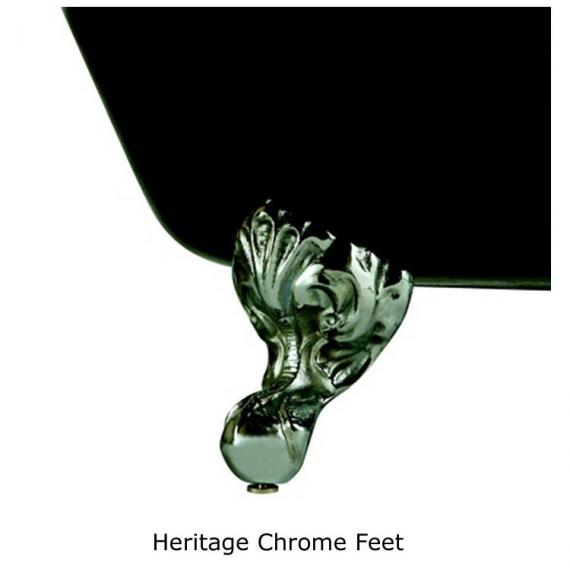 Heritage Chrome Feet