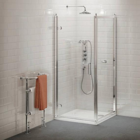 Burlington Hinged Shower Door Enclosure