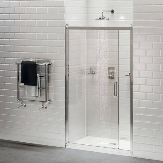 Burlington Sliding Shower Door