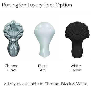 Burlington Bateau Freestanding Bath & Feet - Image 6