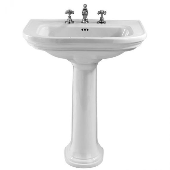 Imperial Carlyon Large Basin and Pedestal
