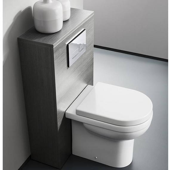 Bauhaus Central Back To Wall WC & Soft Close Seat