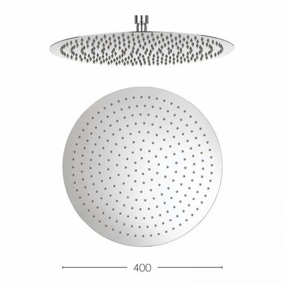 Crosswater Central 400mm Fixed Shower Head Specification