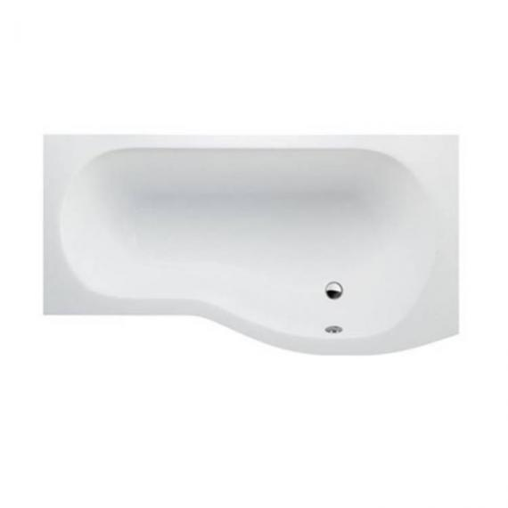 Britton Cleargreen EcoRound 1500mm Shower Bath - Right Hand