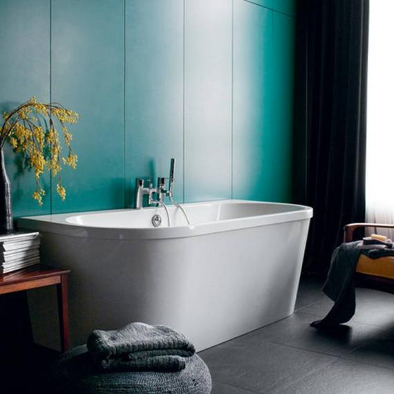Britton Cleargreen Saturn Freestanding Bath