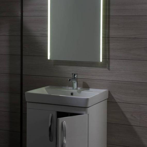 Tavistock Compass White Gloss 600mm Freestanding Unit & Basin - Image 4