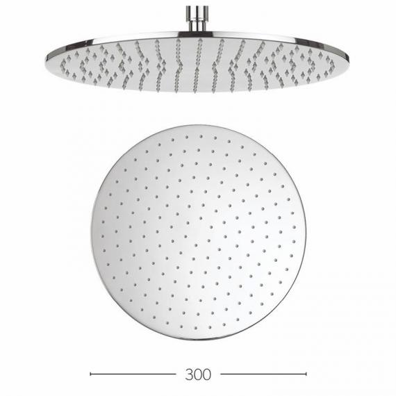 Crosswater Contour 300mm Fixed Shower Head Specification