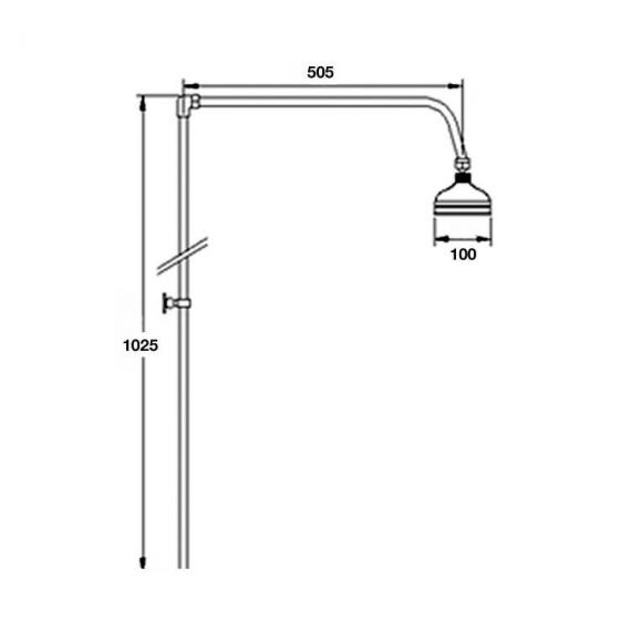 BC Designs Victrion Rigid Riser With 6