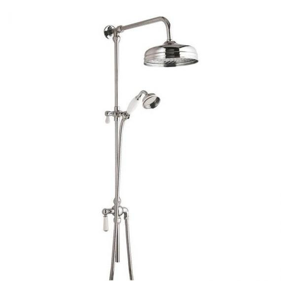 BC Designs Victrion Superbe Fixed Riser Kit With Showerhead & Handset