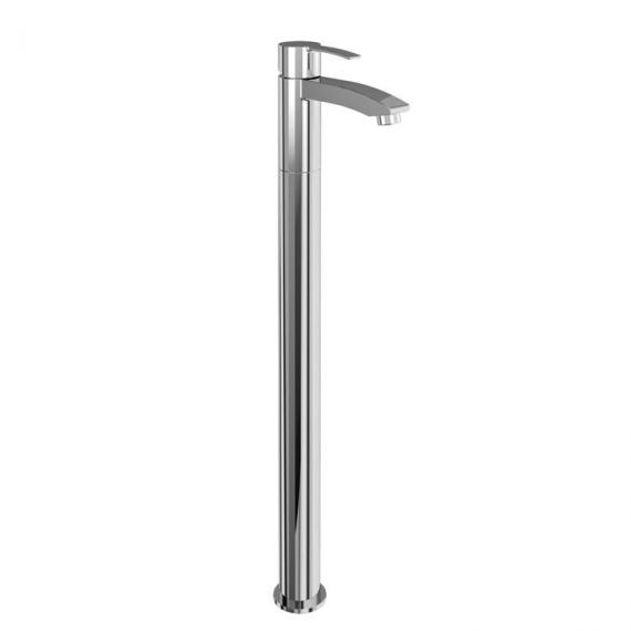 Sapphire Single Lever Bath Filler With Floor Mounted Legs