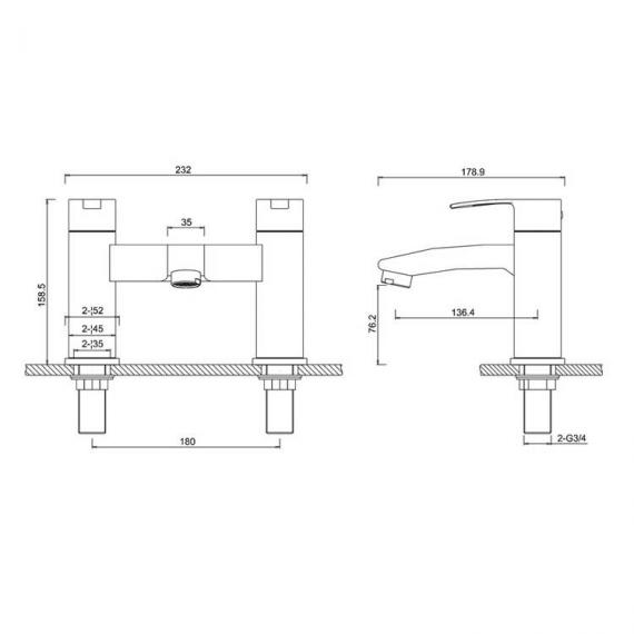 Sapphire Bath Filler Specification