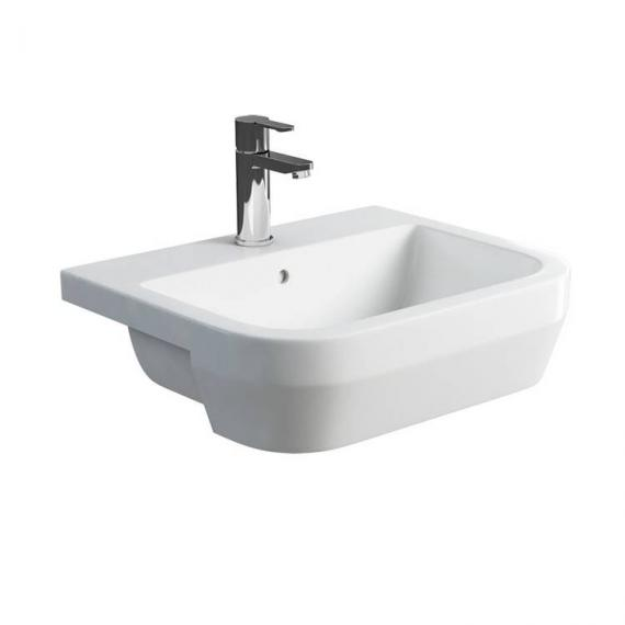 Britton Curve Semi Recessed Basin - Image 2