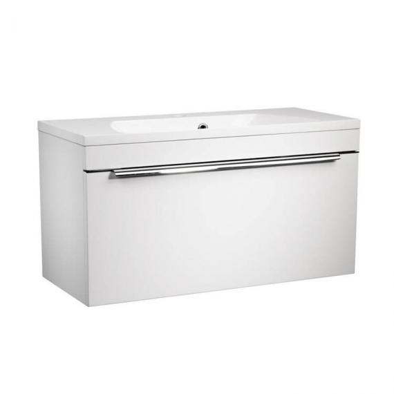 Roper Rhodes Cypher 800mm Gloss White Wall Mounted Unit & Basin