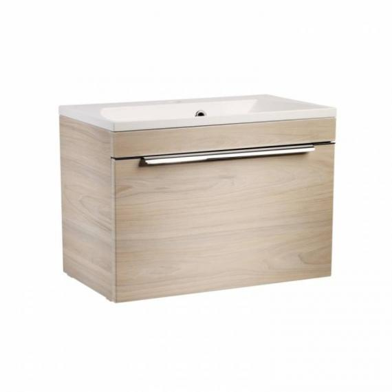 Roper Rhodes Cypher 600mm Light Elm Wall Mounted Unit & Basin