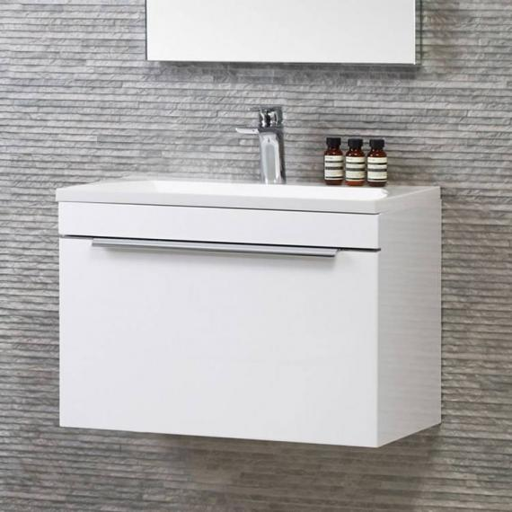 Roper Rhodes Cypher 600mm Gloss White Wall Mounted Unit & Basin