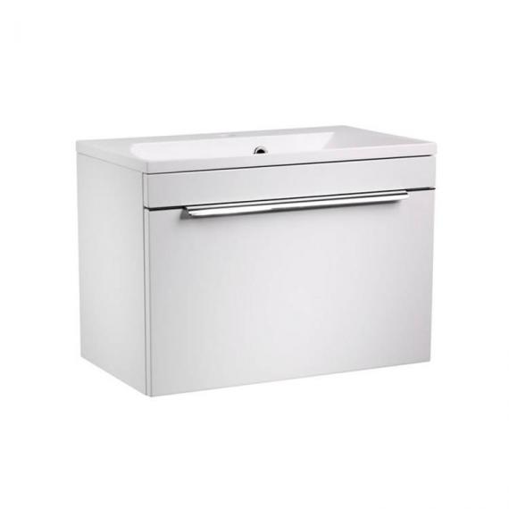 Roper Rhodes Cypher 600mm Gloss White Wall Mounted Unit & Basin - Image 2