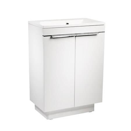 Roper Rhodes Cypher 600mm Gloss White Freestanding Unit & Basin