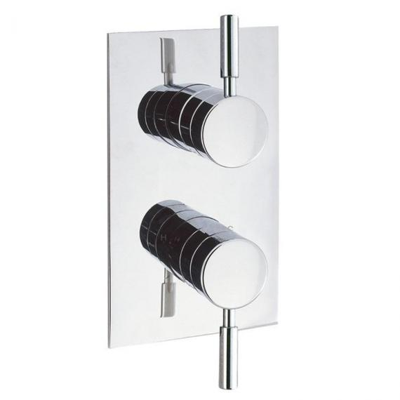 Crosswater Design Thermostatic Shower Valve With 2 Way Diverter