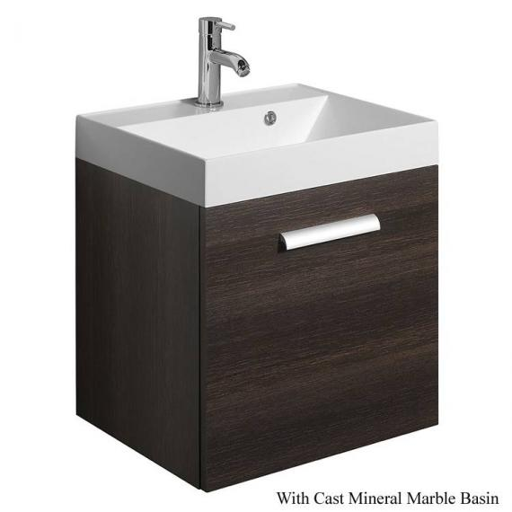 Bauhaus Design Plus 50 Drawer Panga Vanity Unit & Cast Mineral Basin