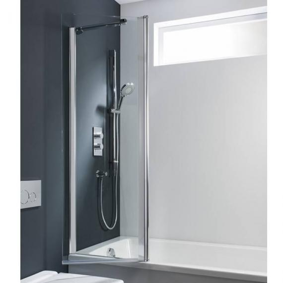 Simpsons Design Double Bath Screen - Outward Opening