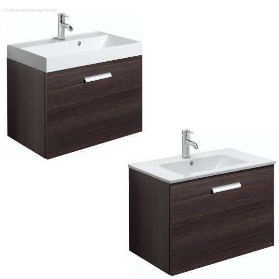 Bauhaus Design Plus 70 Drawer Panga Vanity Unit & Basin