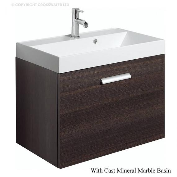 Bauhaus Design Plus 70 Drawer Panga Vanity Unit & Cast Basin