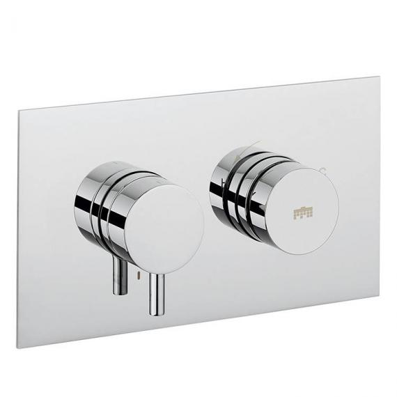 Crosswater Dial Landscape Shower Valve 1 Control With Kai Lever Trim