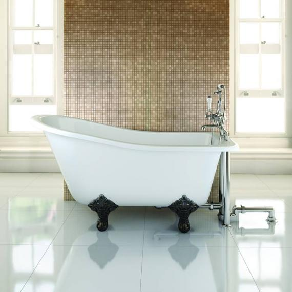 Burlington Buckingham Slipper Freestanding Bath - Image 2