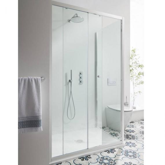 Simpsons Edge Single Sliding Shower Door