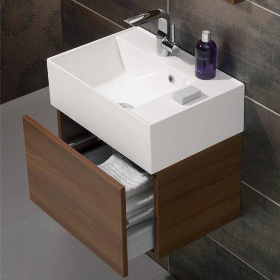 Bauhaus Elite 50 Walnut Vanity Unit & Basin