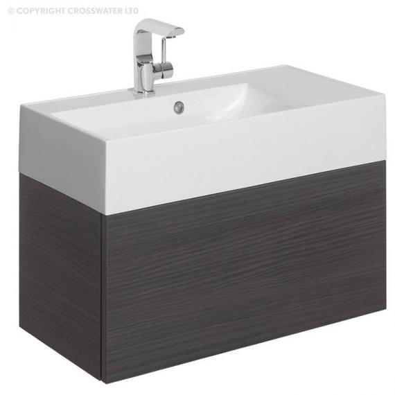 Bauhaus Elite 70 Anthracite Vanity Unit & Basin