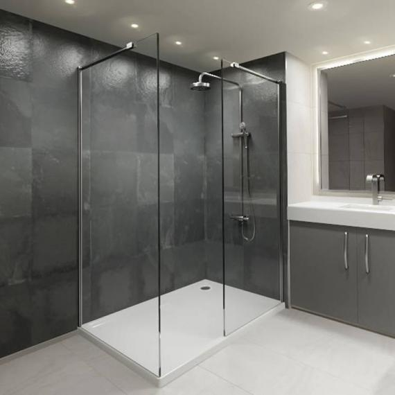 Elite 1500 Walk In Shower Enclosure & Tray