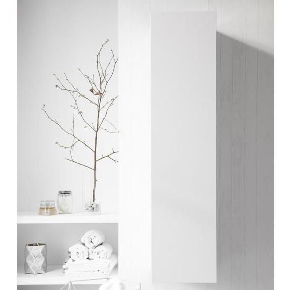Bauhaus Elite White Gloss Tower Storage Unit