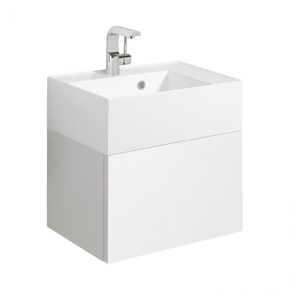 Bauhaus Elite White Gloss 50 Vanity Unit & Basin