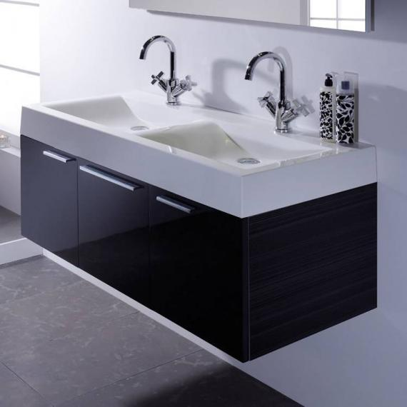Roper Rhodes Envy Anthracite 1200mm Double Wall Mounted Unit & Basin