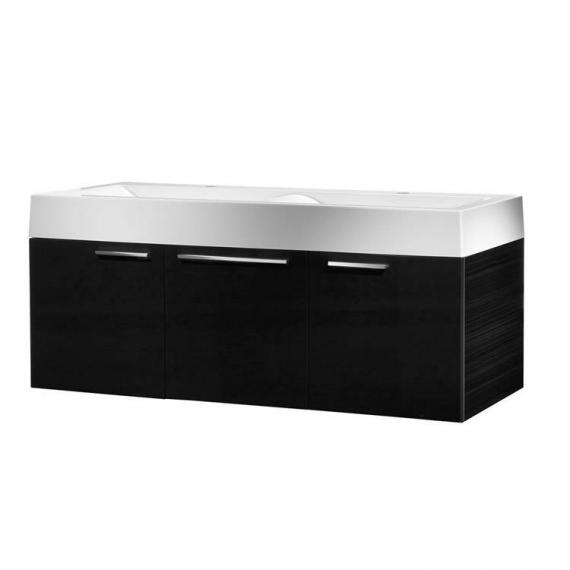 Roper Rhodes Envy Anthracite 1200mm Double Wall Mounted Unit & Basin - Image 2