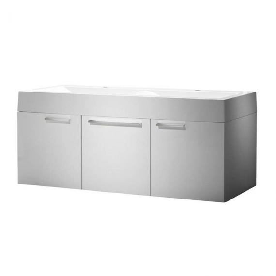 Roper Rhodes Envy Gloss White 1200mm Double Wall Mounted Unit & Basin - Image 2