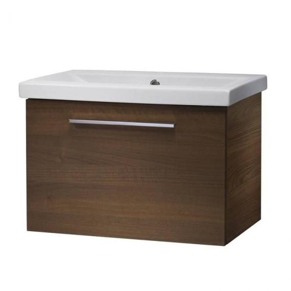 Roper Rhodes Envy Walnut 600mm Wall Mounted Unit & Basin