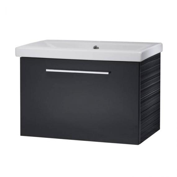 Roper Rhodes Envy Anthracite 600mm Wall Mounted Unit & Basin