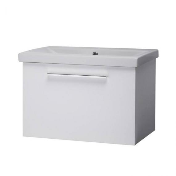Roper Rhodes Envy Gloss White 600mm Wall Mounted Unit & Basin - Image 2