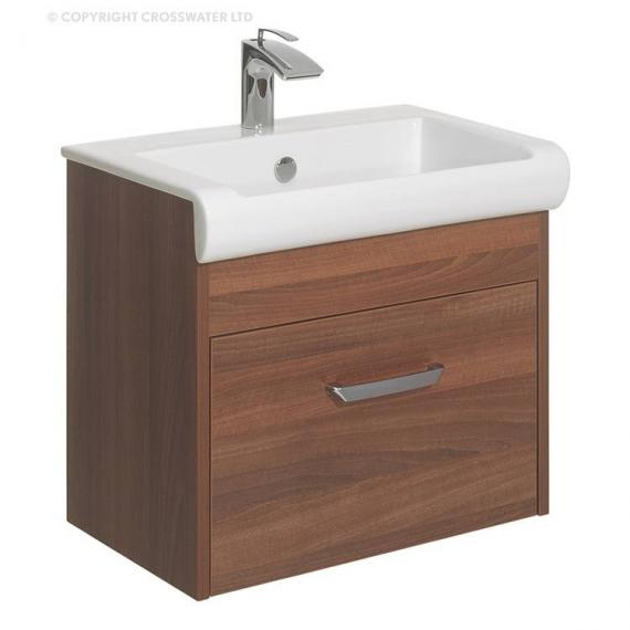 Bauhaus Essence 60 Walnut Vanity Unit & Basin