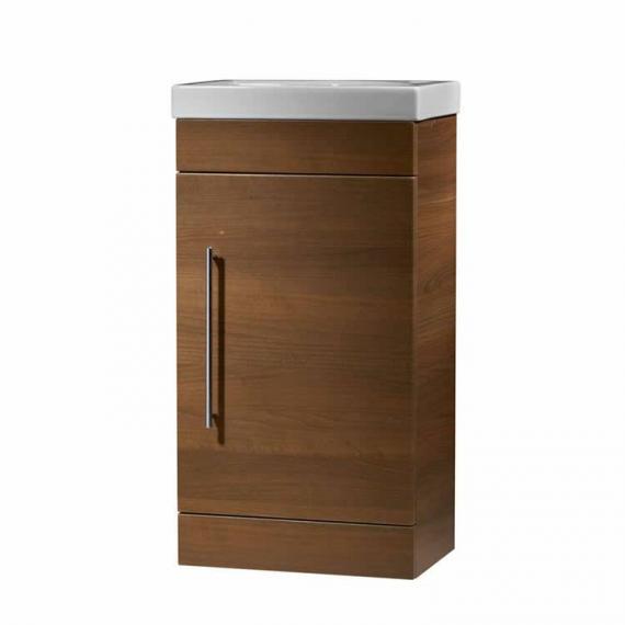 Roper Rhodes Esta Walnut 460mm Freestanding Unit & Basin  - Spec 2
