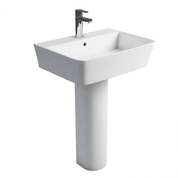 Britton Fine 600mm Basin & Round Fronted Pedestal