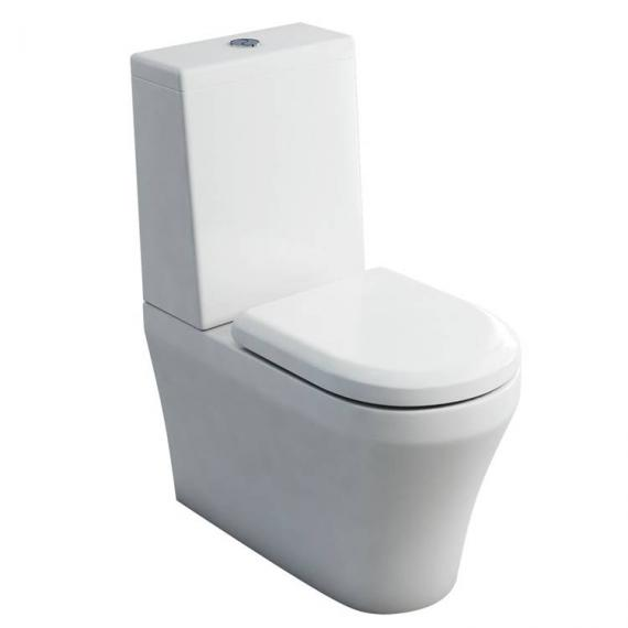 Britton Fine Close Coupled Back To Wall WC & Seat