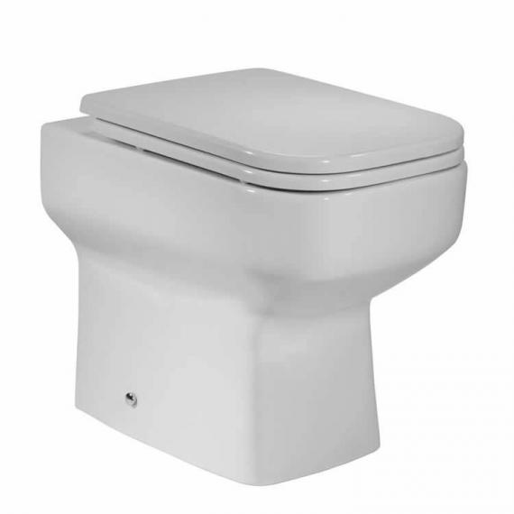 Roper Rhodes Geo 505mm Back To Wall WC & Soft Close Seat - Image 2