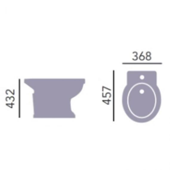 Heritage Granley Bidet Specification